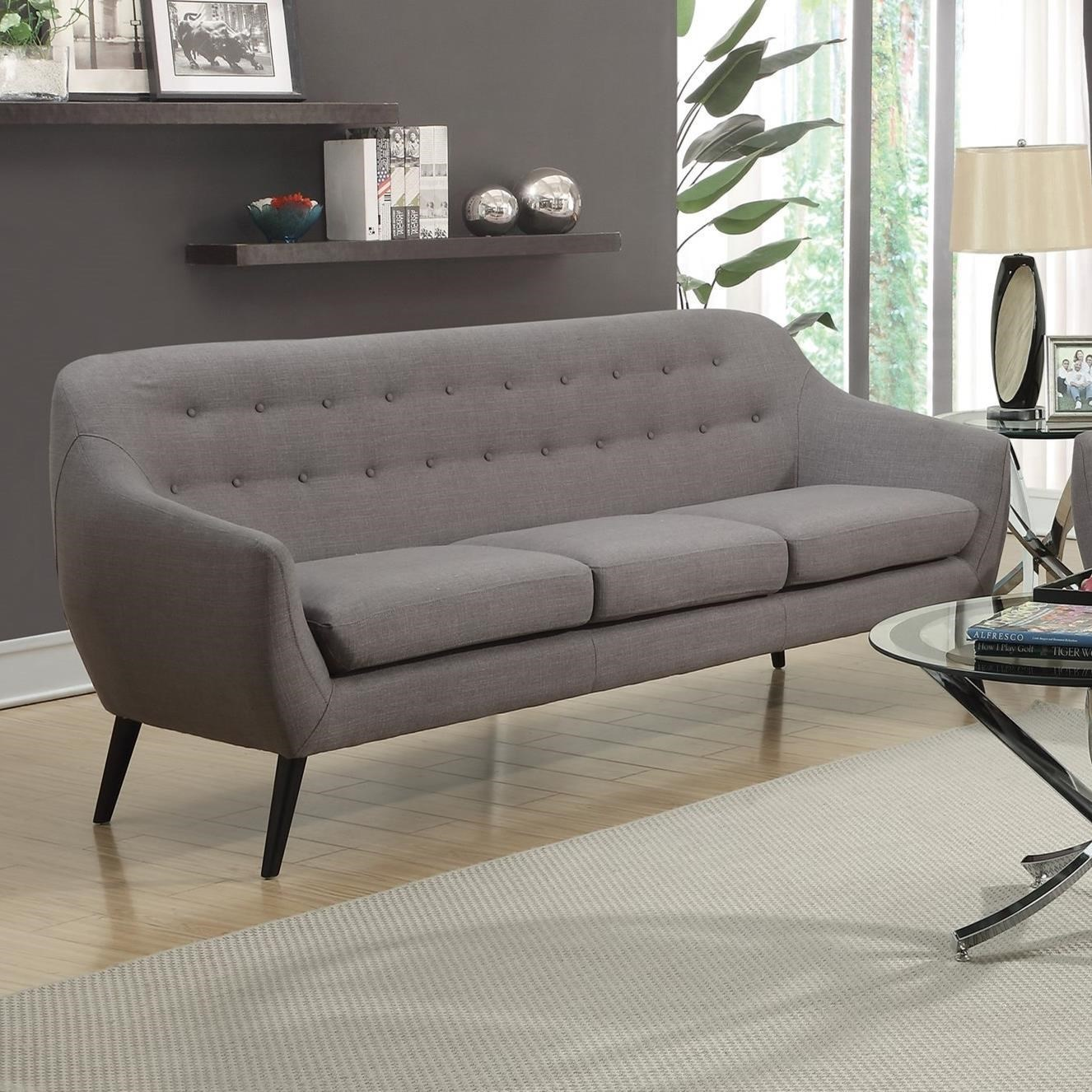 Modern Furniture Cheap Prices: Dawson Mid Century Modern Sofa