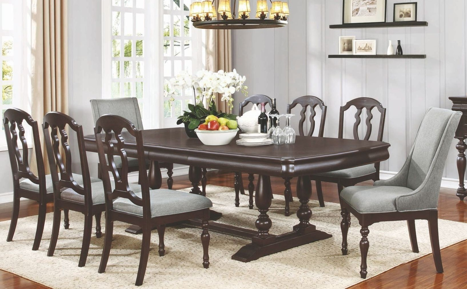 LEON 9 PIECE DINING TABLE SET & LEON 9 PIECE DINING TABLE SET | Quality furniture at affordable ...