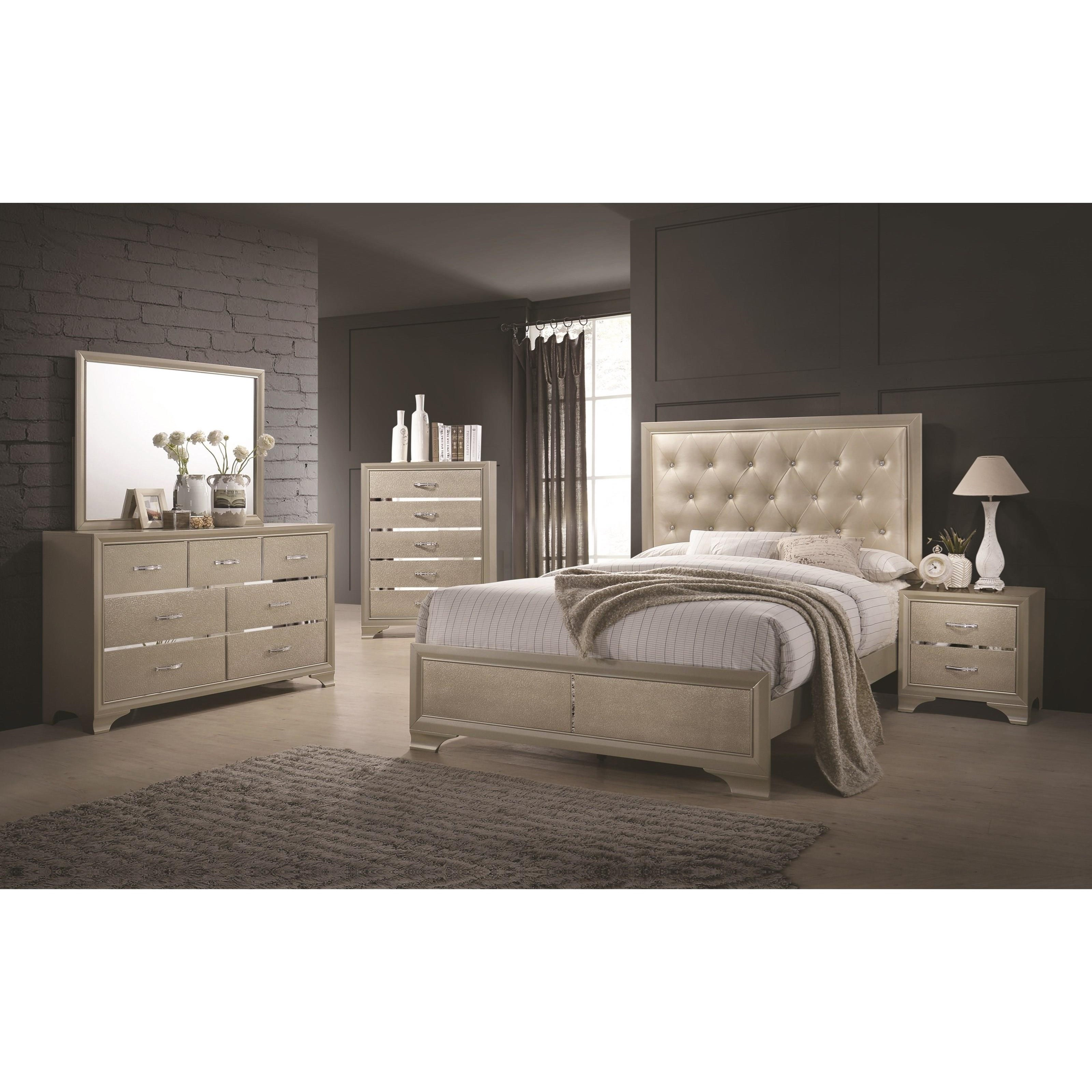 Beaumont seven drawer dresser with felt lined top drawers for Q furniture beaumont