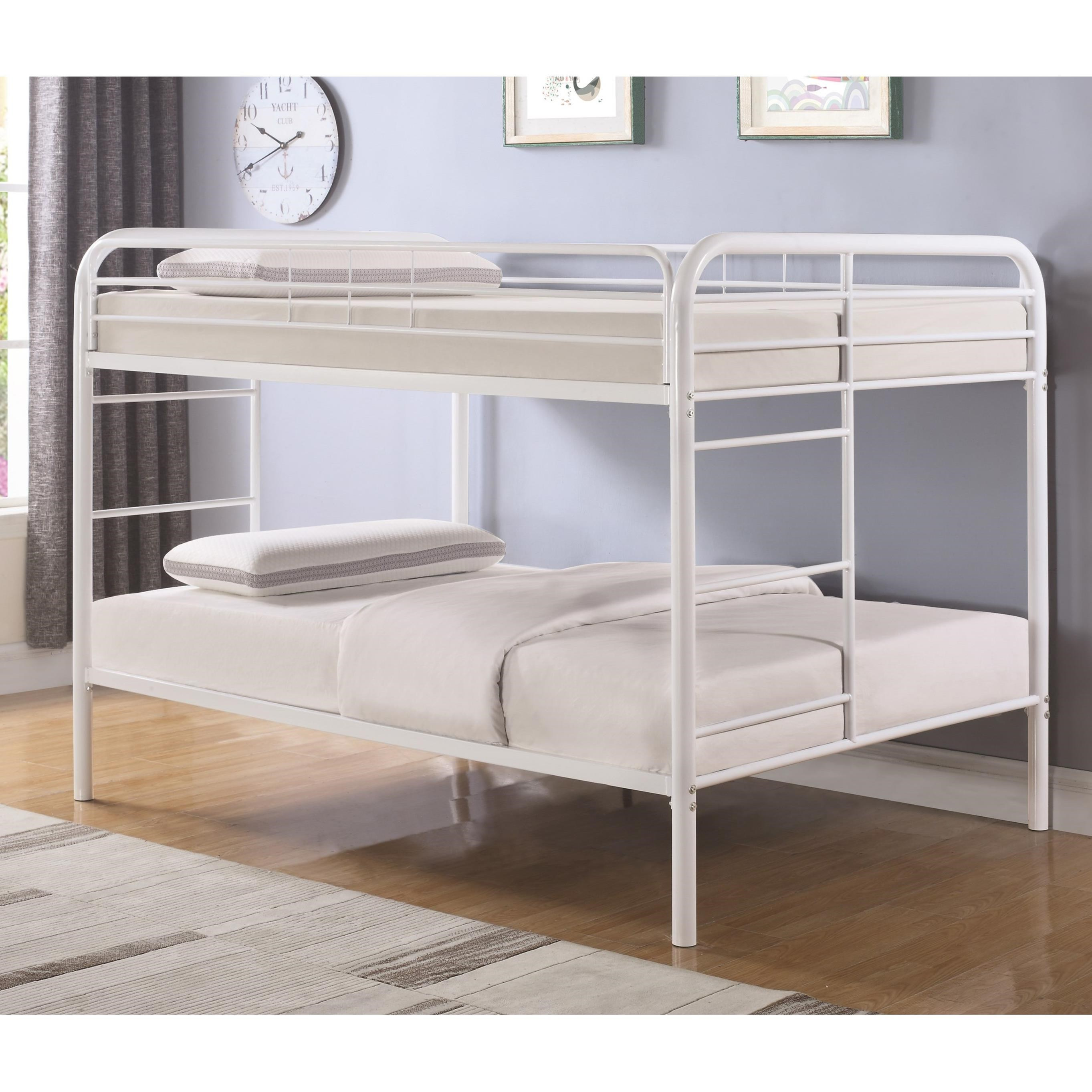 Metal Beds Full Over Full Bunk Bed Quality Furniture At