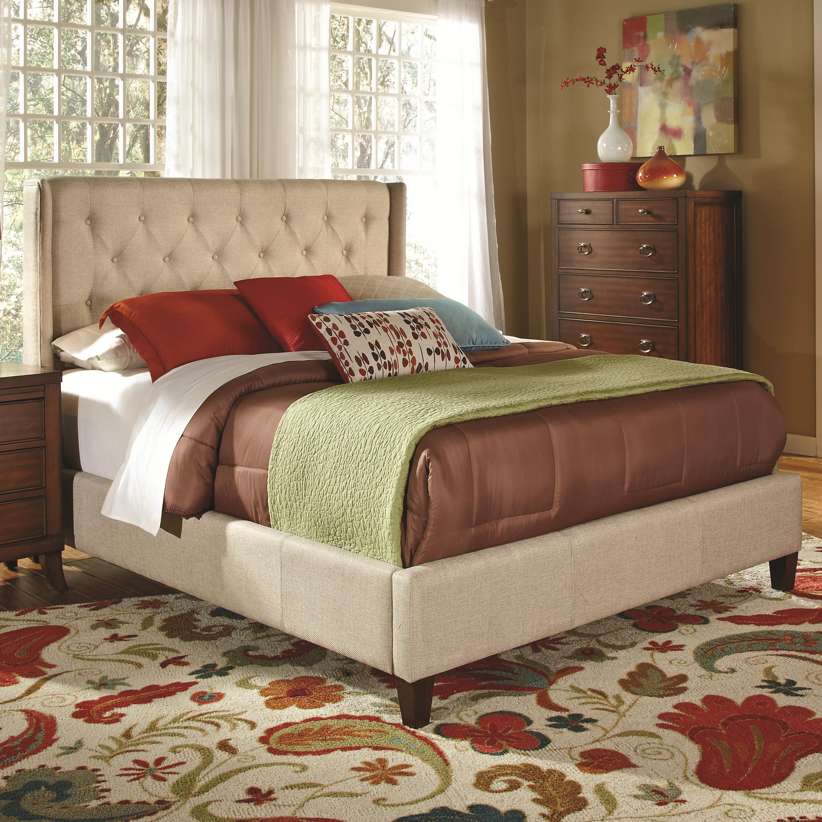 Upholstered Beds Upholstered California King Bed With Tall Tufted Headboard Quality Furniture At Affordable Prices In Philadelphia Main Line Pa