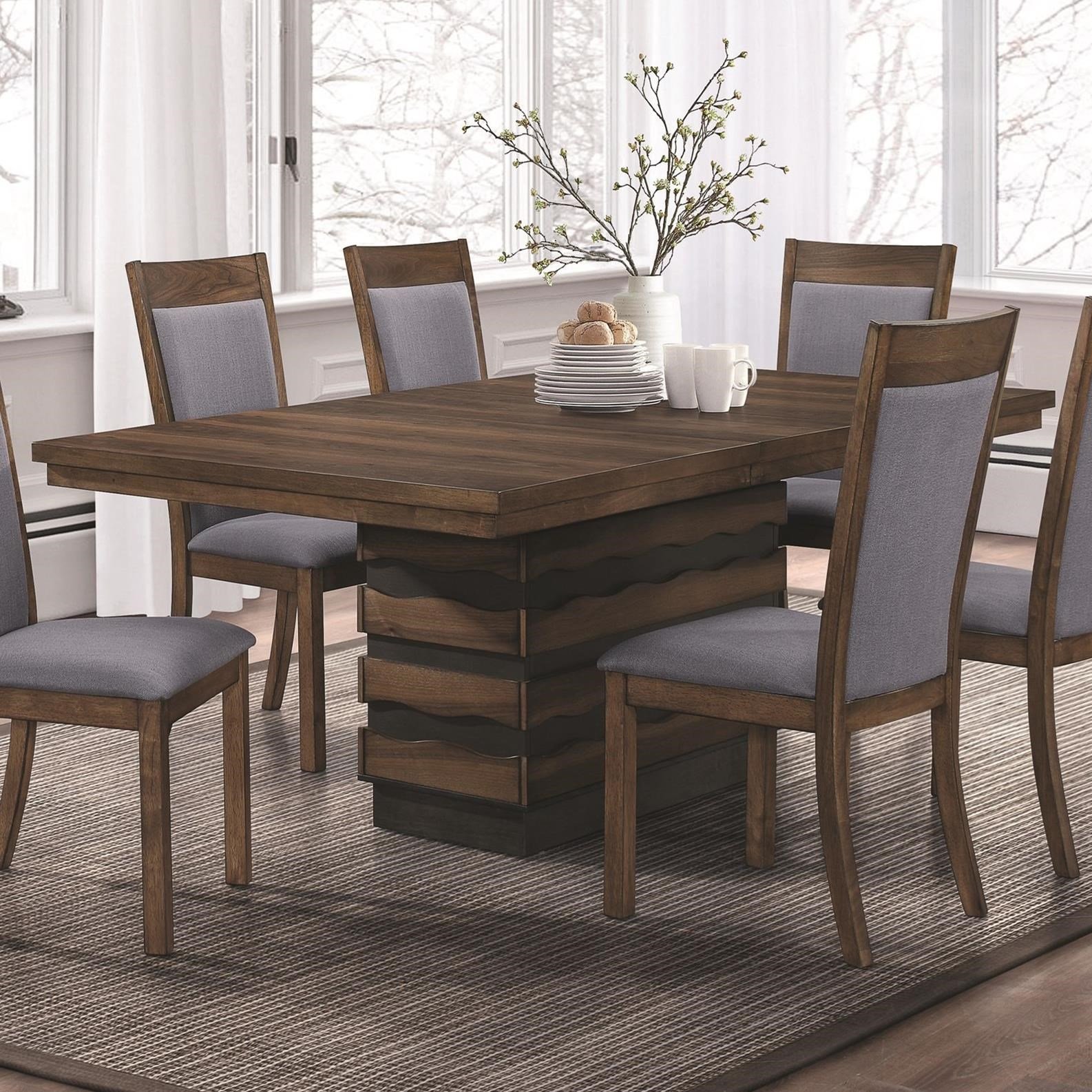 Octavia Dining Table With Hidden Storage In Base Quality